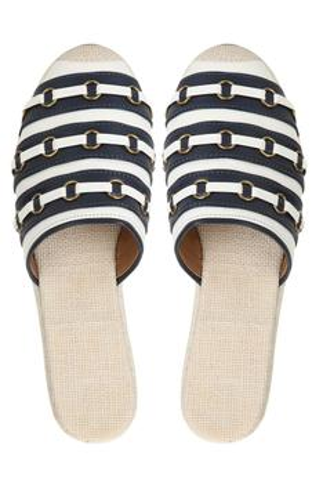 Ekaja Striped Mules