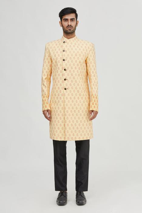Printed Cotton Sherwani