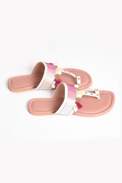 Tassel Kolhapuri Sandals
