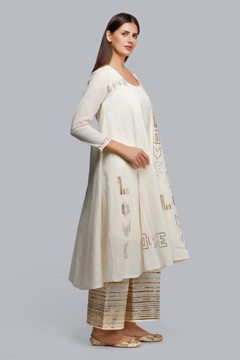 Embroidered Kalidar Jacket