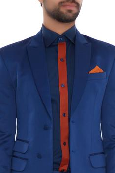 Single Breasted Suit Set
