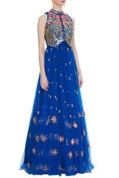 Embroidered Anarkali with Jacket