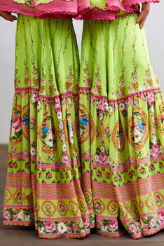 Angoori Ardas Anarkali Sharara Set