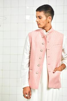 Quilted Nehru Jacket