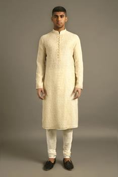 Chanderi Kurta Set