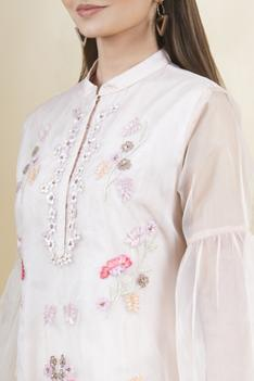 Embroidered Tunic & Pant Set