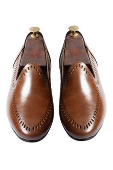 Handcrafted Cutwork Loafers