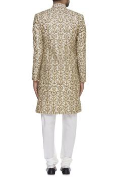 Jaal & Aari Embroidered Sherwani Set