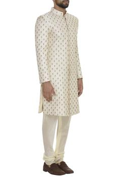 Resham Embroidered Sherwani Set