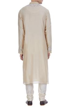 Embroidered straight fit kurta