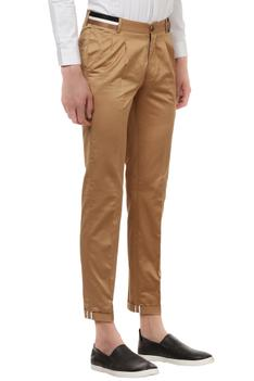Casual trousers with stripe tape detailing