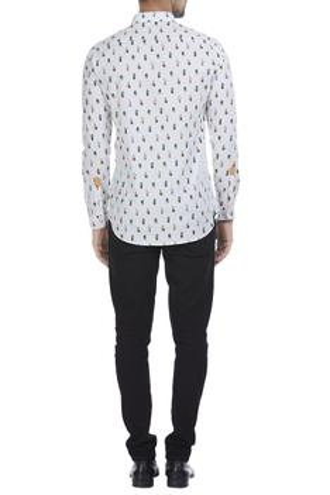 Cactus printed dress shirt