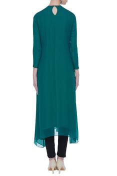 Embroidered Asymmetric Tunic