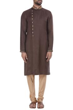 Zardozi embroidered kurta set