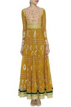 Floral Embroidered Anarkali Set