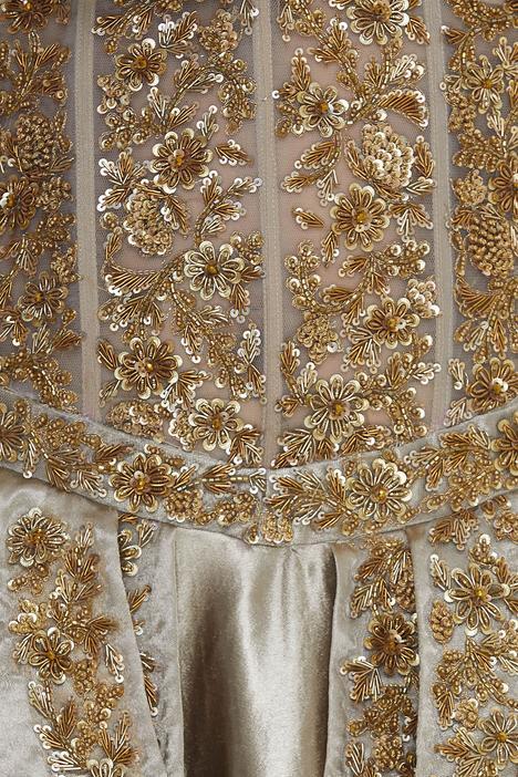Bandeau Corset Gown