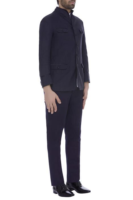 Blazer jacket with trouser pants