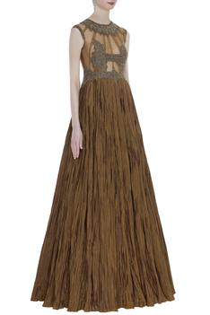 Embellished Empire Gown