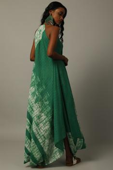 Handwoven Cotton Batik Dress