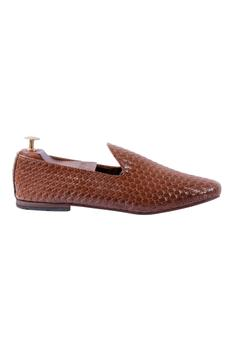 Handcrafted Woven Loafers
