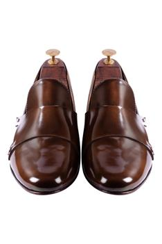Double Monk Shoes