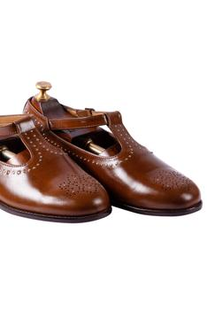 Handcrafted Brogue Sandals