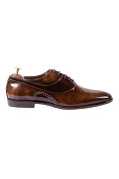 Handcrafted Leather Oxfords