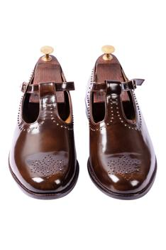 Leather Brogue Sandals