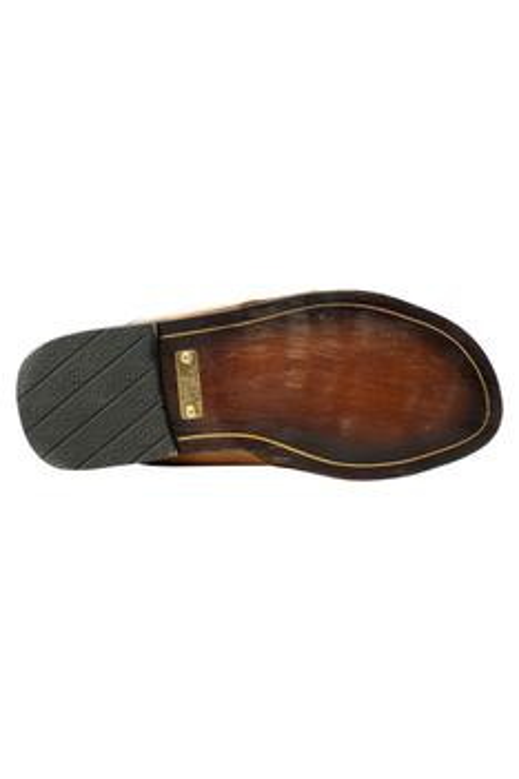Handcrafted Horsebit Cutout Sandals