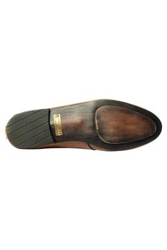 Handcrafted Buckle Strap Shoes