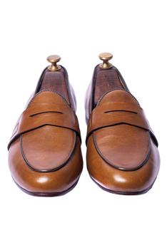 Handcrafted Penny Loafers