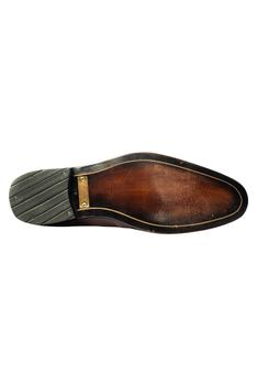 Hand Sprayed Flap Loafers