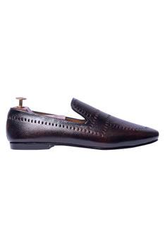 Handcrafted Cutout Loafers