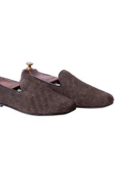 Handwoven Textured Loafers