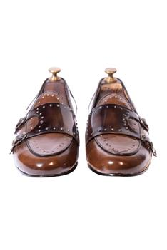 Handcrafted Double Monk Loafers