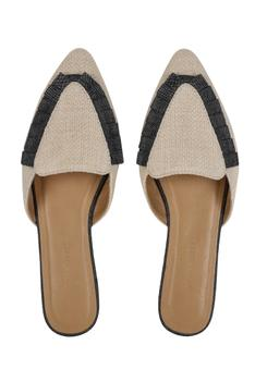 Pleated Mules
