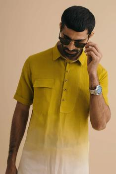 Straight Collar Kurta