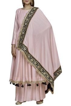 Embellished Anarkali Sharara Set