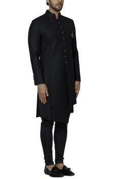 Button Front Sherwani Set