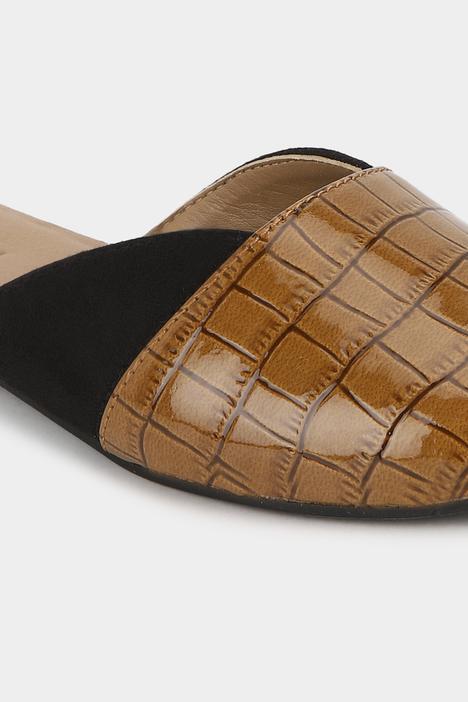 Textured Mules