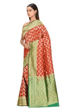 Banarasi Saree with Running Blouse Fabric