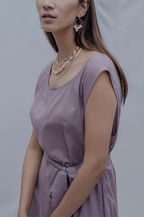 Andrea Cotton Jumpsuit