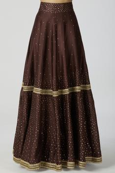 Chanderi Silk Lehenga Set