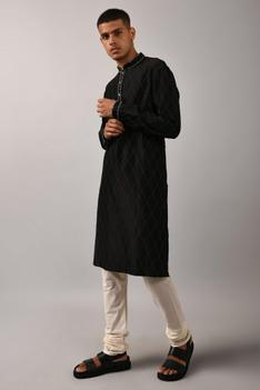 Linen Cotton Kurta Set