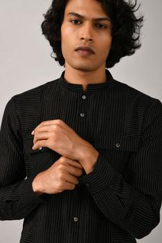 Chanderi Short Kurta