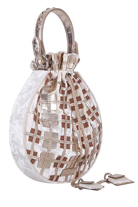 Velvet Embroidered Potli Bag