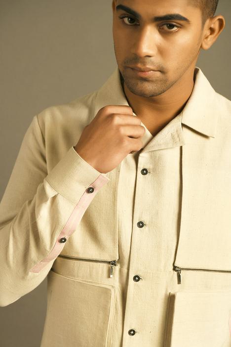 Handloom Cotton Shacket