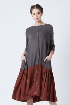 Seville Crepe Dress