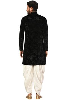 Draped Sherwani Set