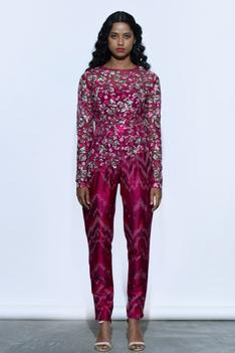 Flora Embroidered Jumpsuit
